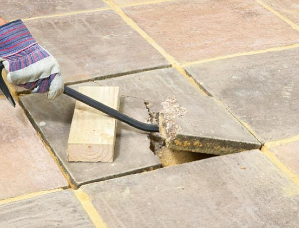 Укладка тротуарной плитки своими руками основные дефекты